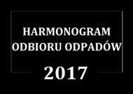 Harmonogram Odbioru Odpadów 2017